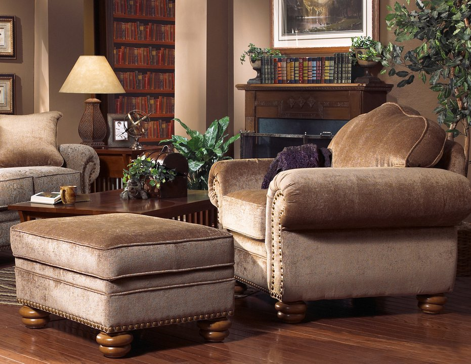 2248 chair and ottoman