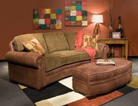 2476 Baldwin Conversation sofa