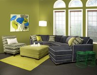 9000 Tear Drop Sectional