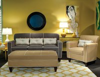 EY Angle Sofa ottoman