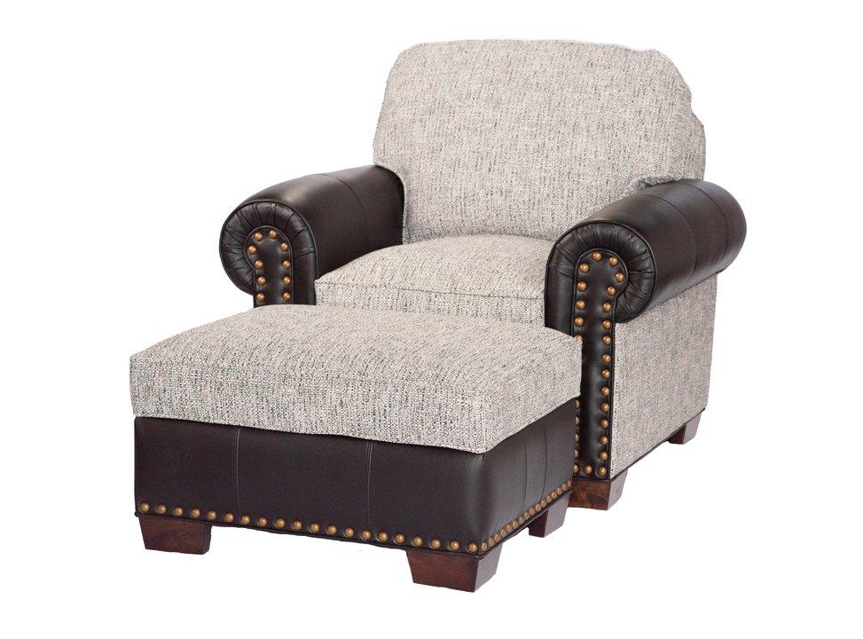 L2476 Baldwin Chair and Otto