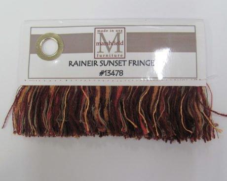 Rainier Sunset Fringe